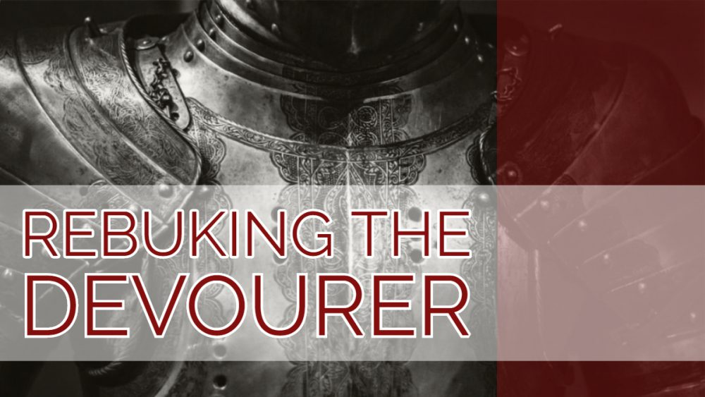 Rebuking The Devourer Image