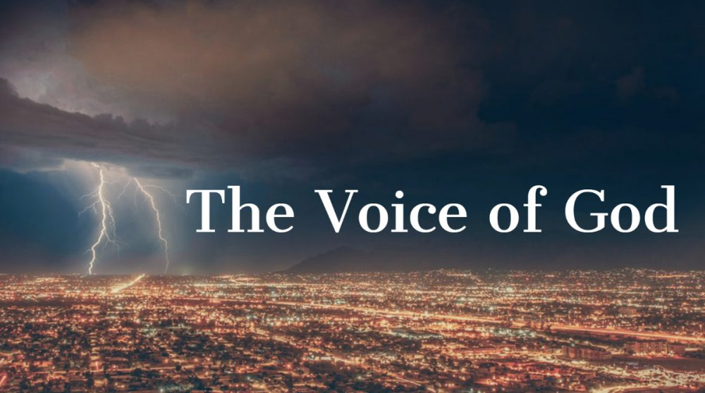 The Voice of God Image