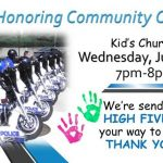 Honoring Community Officers